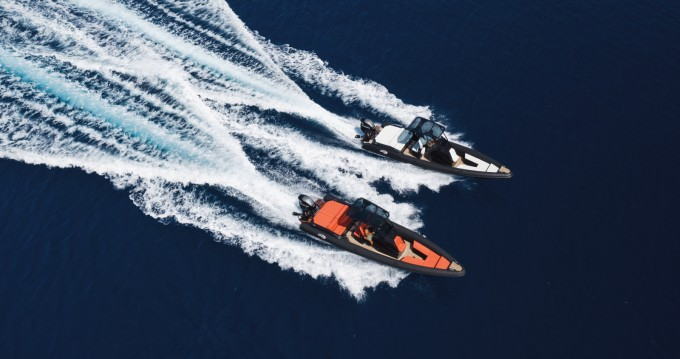 Hire RIB with or without skipper SEA FIGHTER Ornos