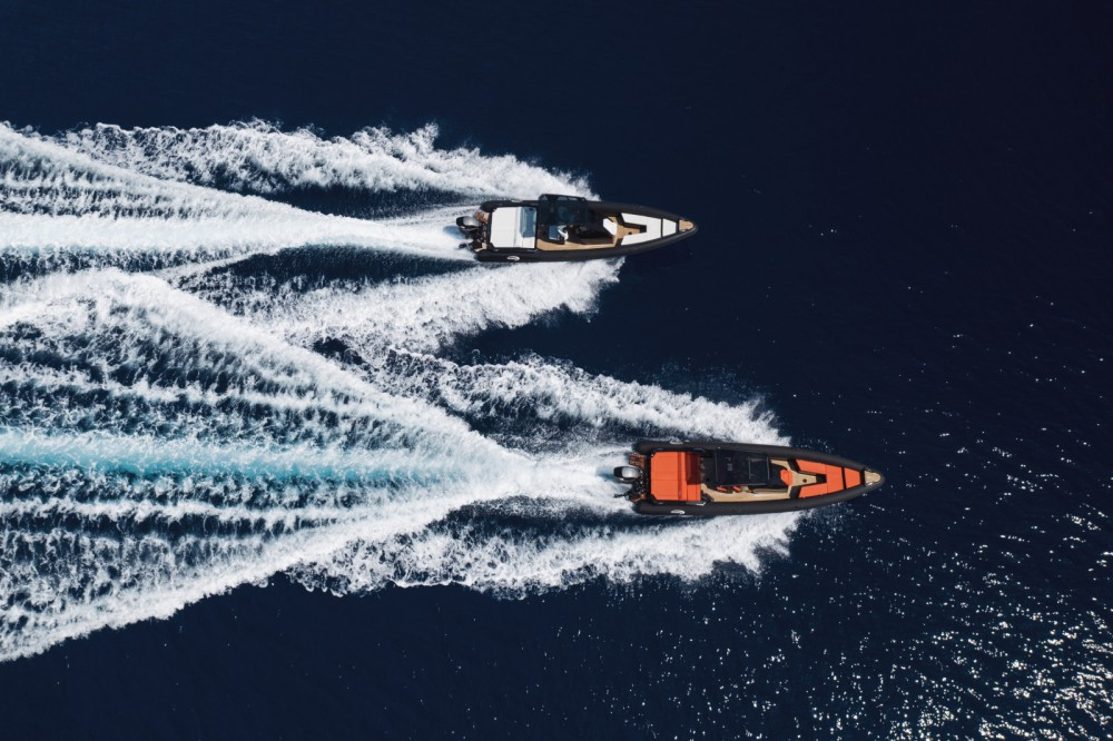 Rental RIB in Ano Mera - SEA FIGHTER Ultimeight 30ft