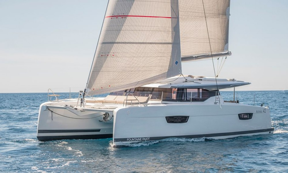 Hire Catamaran with or without skipper Fountaine Pajot Bahamas