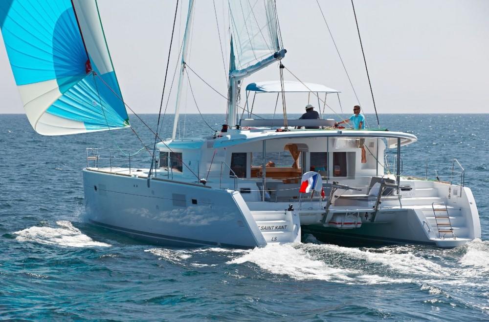 Lagoon Lagoon 450 F - 4 + 2 cab. between personal and professional Bahamas