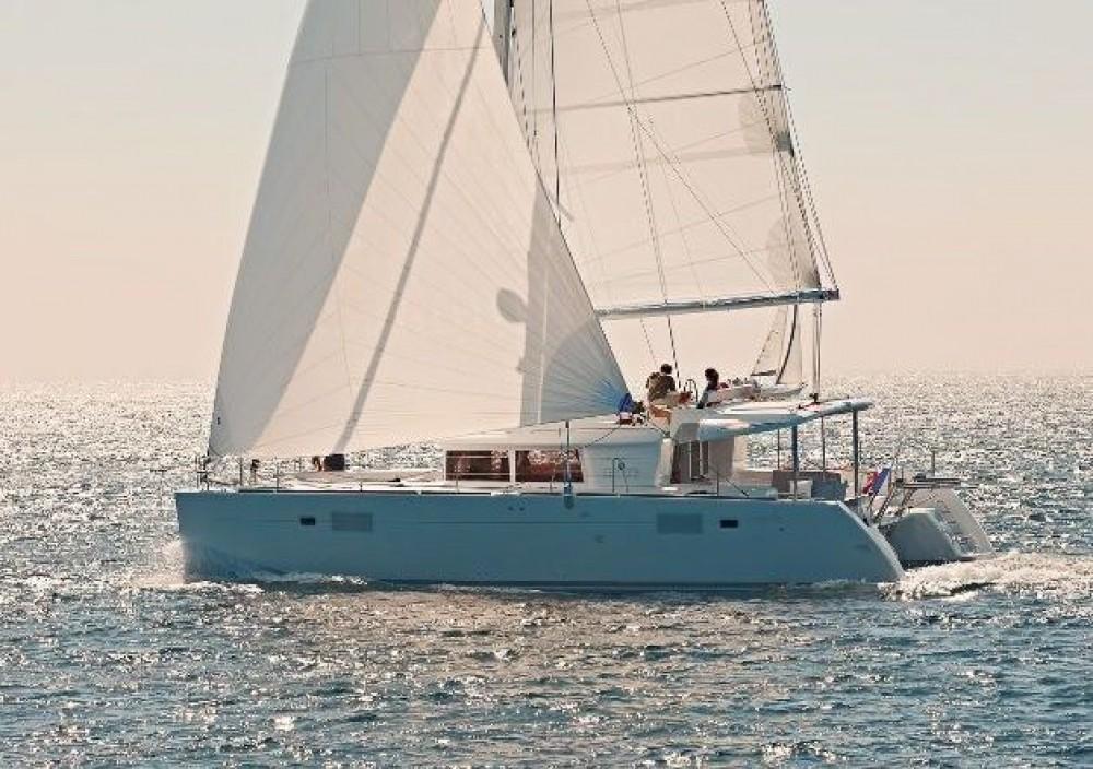 Rental yacht Bahamas - Lagoon Lagoon 450 F - 4 + 2 cab. on SamBoat