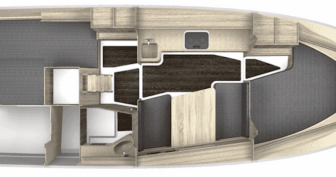 Rental Motorboat Northman Nexus r870 Evo with a permit