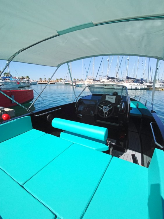 Hire Motorboat with or without skipper Nuva Torrevieja