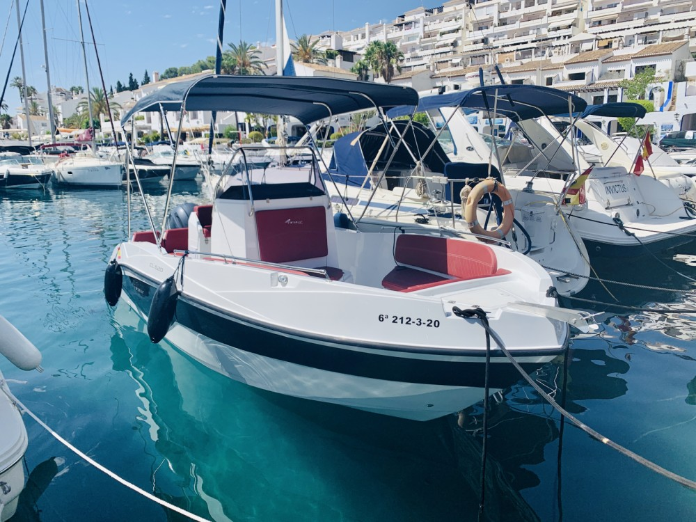 Boat rental nireus 620 in Nerja on Samboat