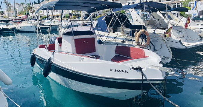 Motorboat for rent Nerja at the best price