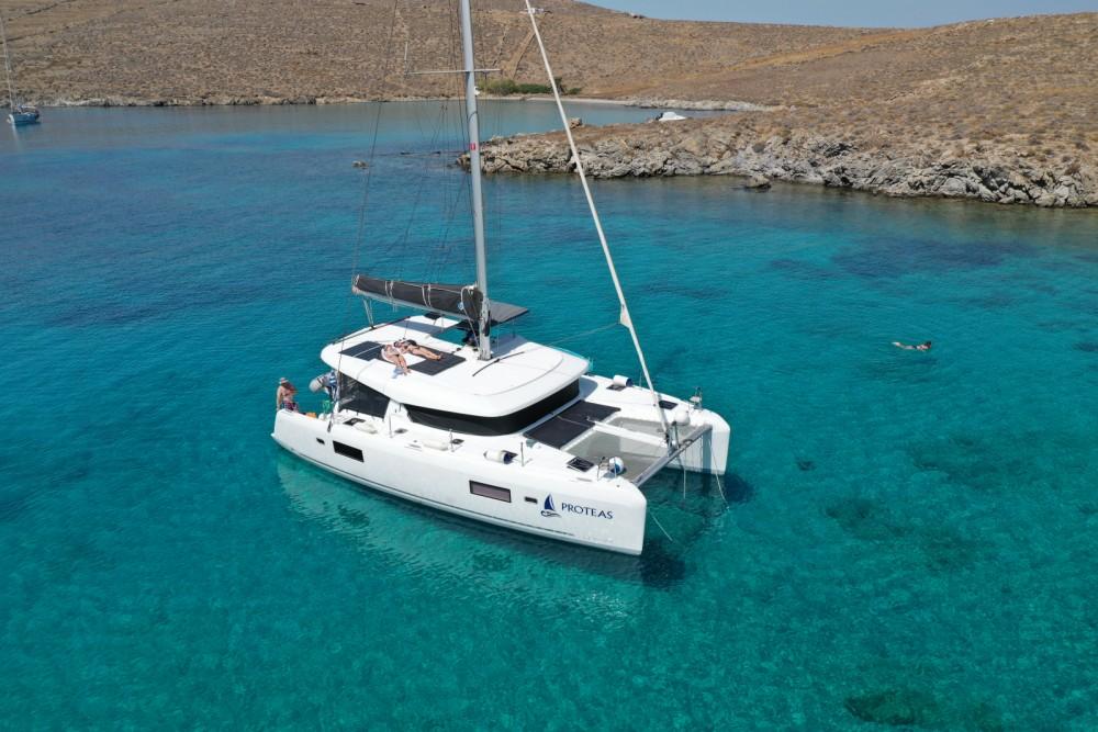 Catamaran for rent Ano Mera at the best price