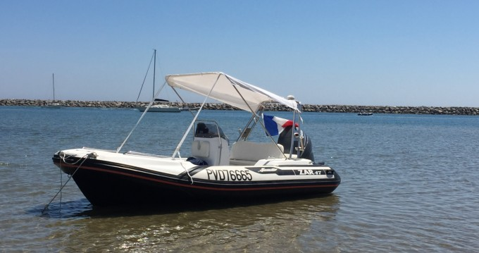 Hire RIB with or without skipper Zar Argelès-sur-Mer