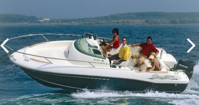 Rental Motorboat in Le Havre - Jeanneau Cap Camarat 625 WA