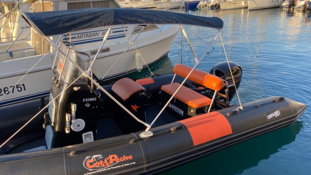 Boat rental Centaure 6.20XL in La Londe-les-Maures on Samboat