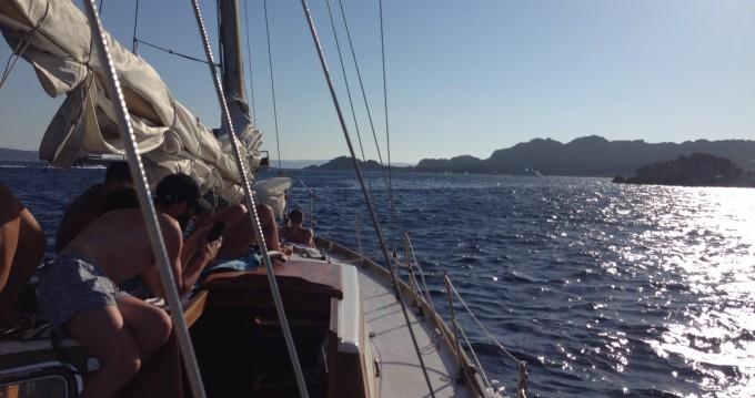 Boat rental Palau cheap ketch