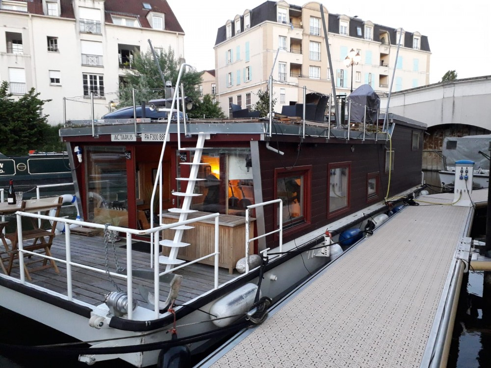 Boat rental Cergy cheap Houseboat