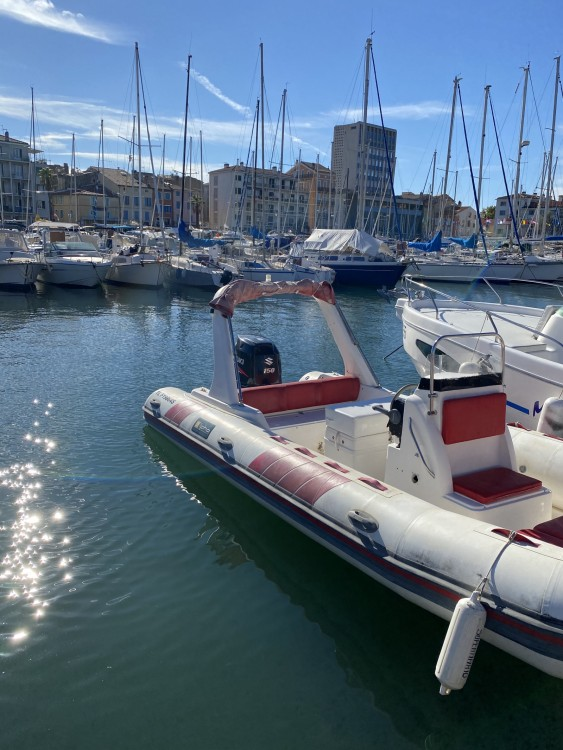 Hire RIB with or without skipper Tiger Saint-Cyr-sur-Mer