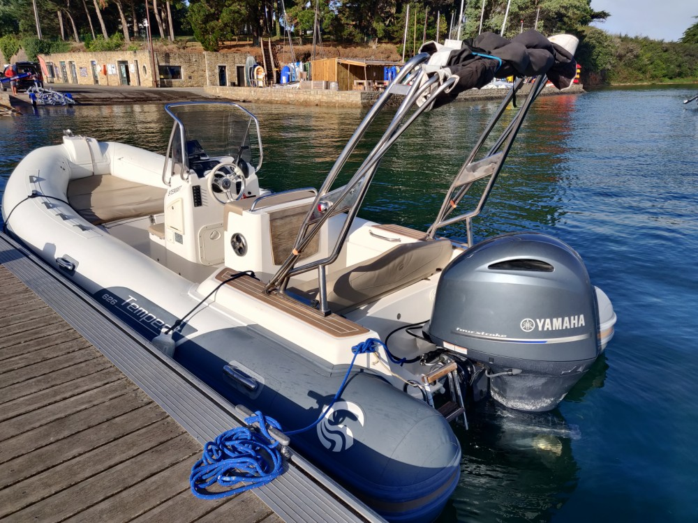 Boat rental Sarzeau cheap Tempest 626 Limited