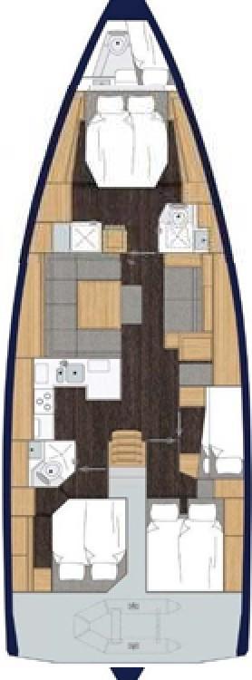 Boat rental Bavaria Bavaria C50 Style - 4 + 1 cab. in Grad Pula on Samboat