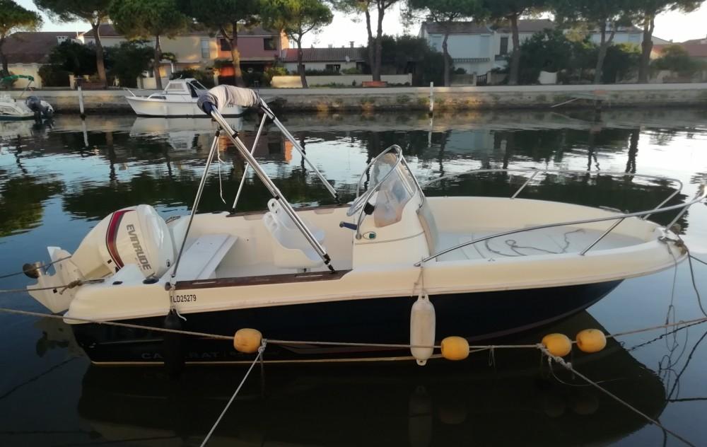 Jeanneau Cap Camarat 545 between personal and professional Palavas-les-Flots