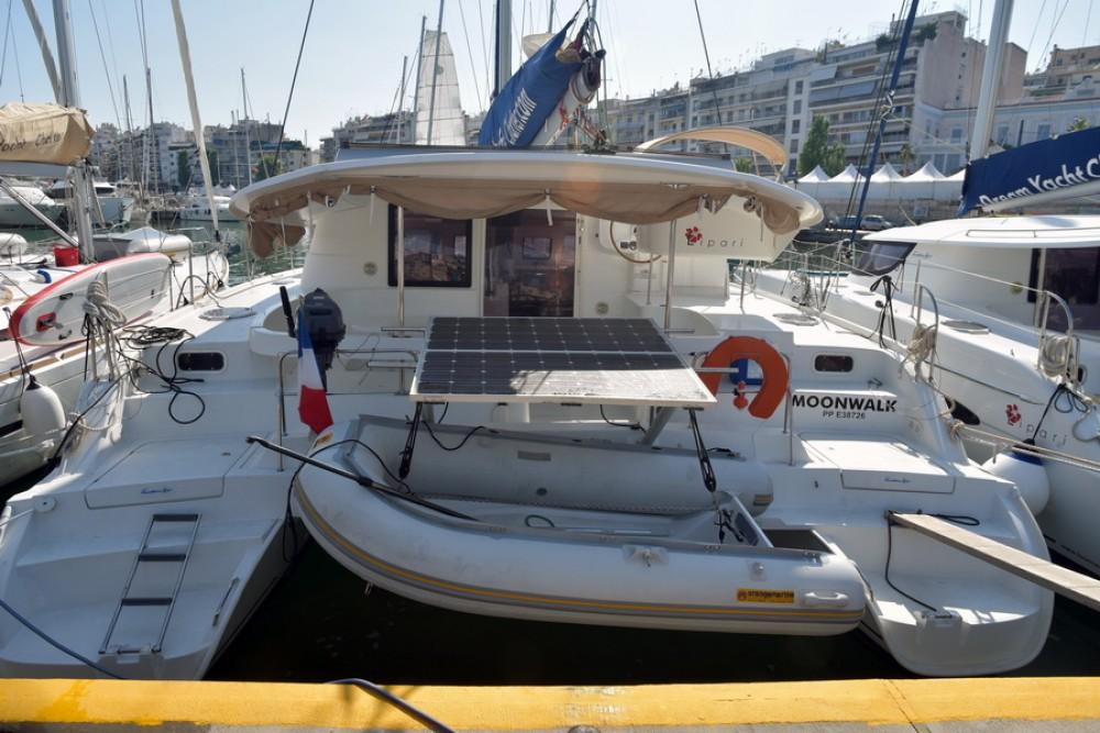 Rental Catamaran in Laurium - Fountaine Pajot Lipari 41