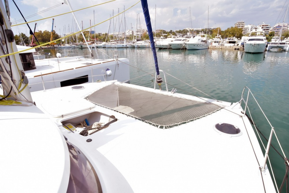 Fountaine Pajot Lipari 41 between personal and professional Laurium