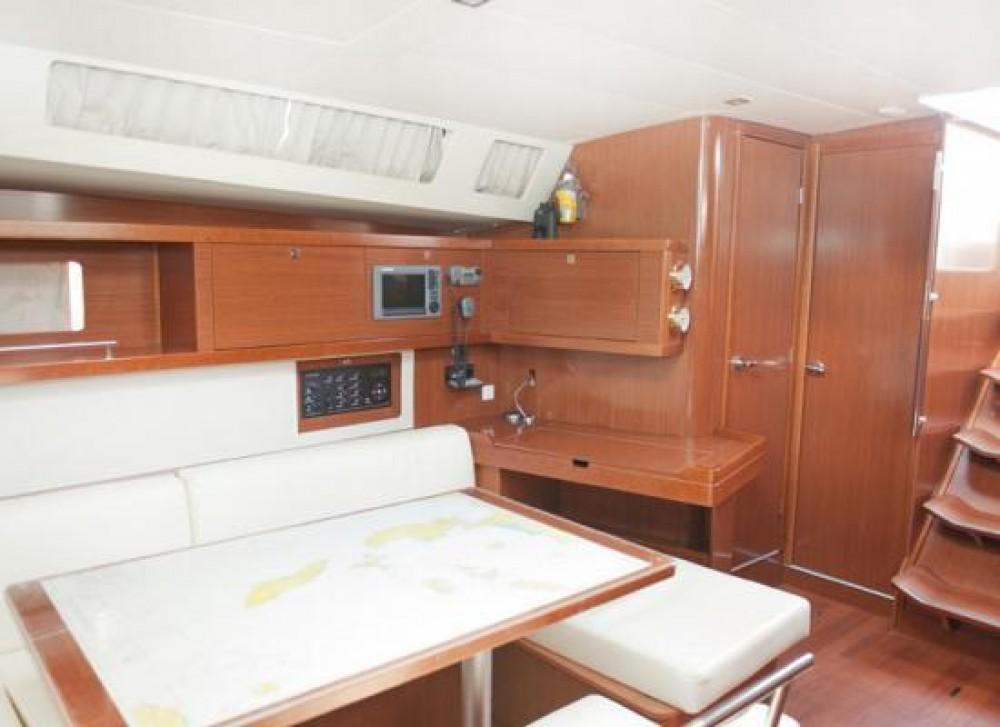 Boat rental La Spezia cheap Oceanis 45