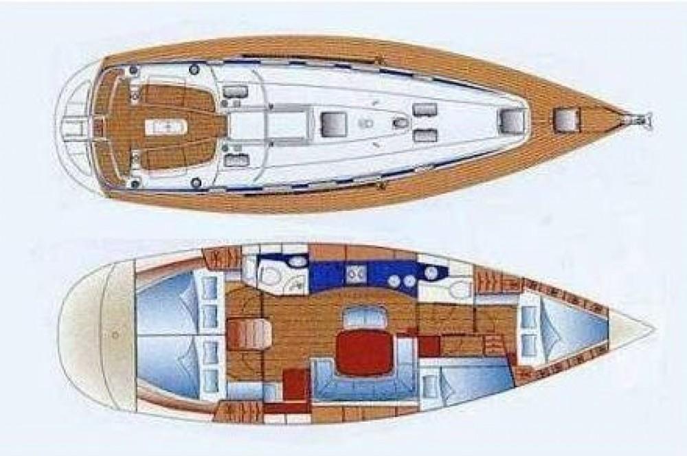 Rental Sailboat in Kalafationes - Bavaria 44 FT