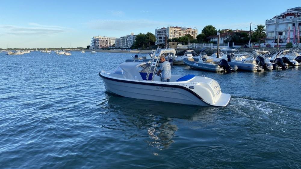 Rental Motorboat in Arcachon - oudhuijzer 616 Tender Électrique