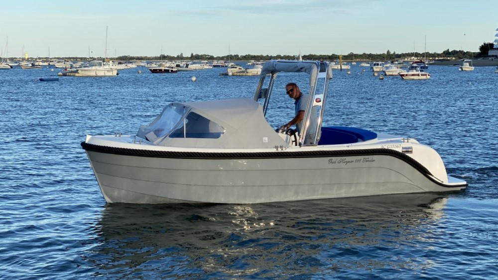 Boat rental oudhuijzer 616 Tender Électrique in Arcachon on Samboat