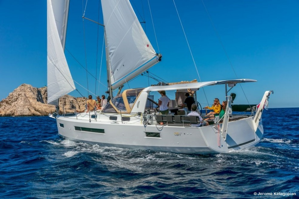 Hire Sailboat with or without skipper Jeanneau Olbia