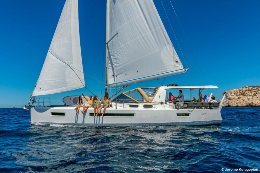 Boat rental Jeanneau Sun Loft 47 in Olbia on Samboat