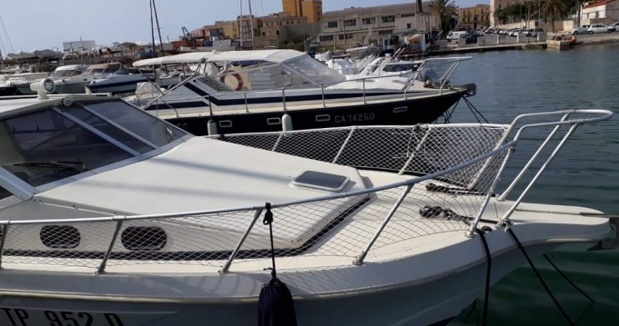 Hire Motorboat with or without skipper Dellapasqua Trapani