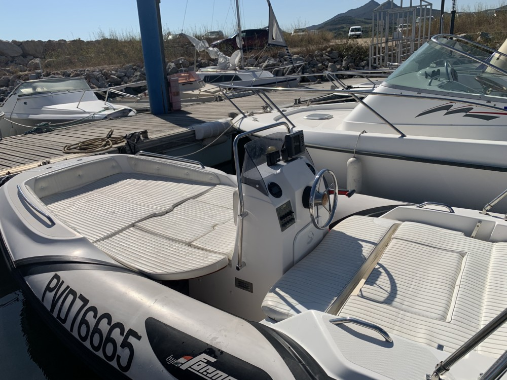 Hire RIB with or without skipper Zar Formenti Argelès-sur-Mer