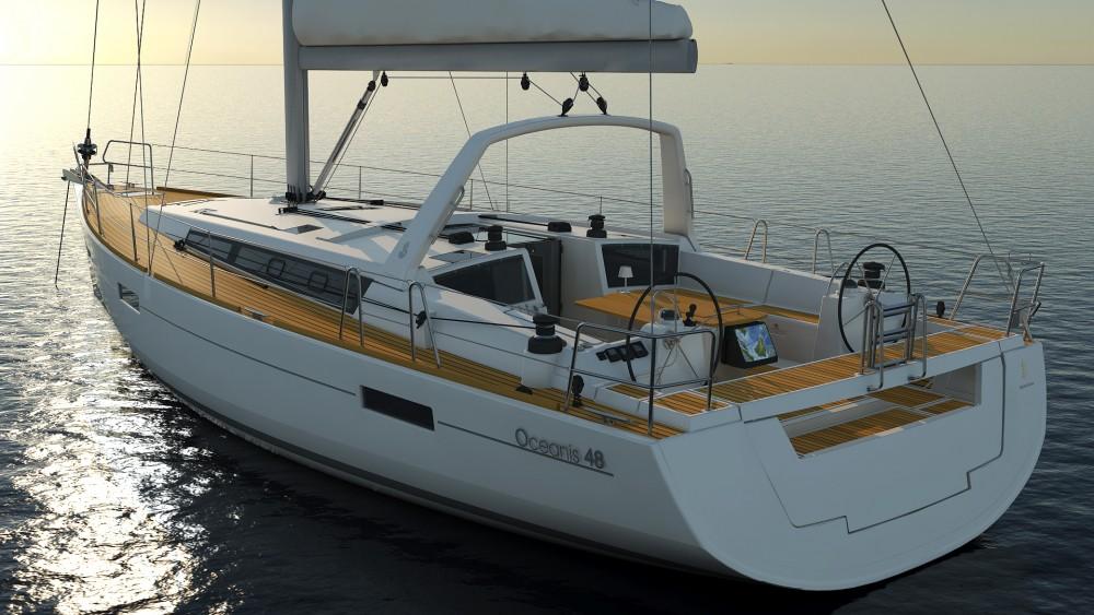 Rental Sailboat in Grad Pula - Bénéteau Oceanis 48