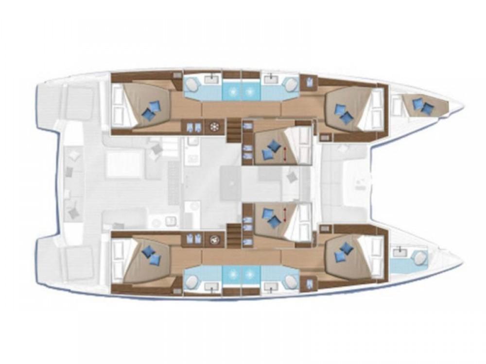 Boat rental Marmaris cheap Lagoon 50