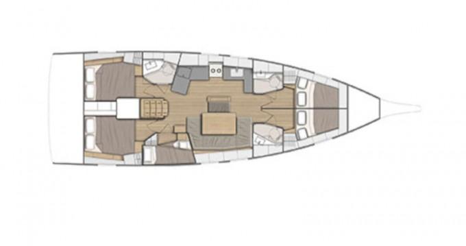 Rental Sailboat in Alimos - Bénéteau Oceanis 46.1/4cbs