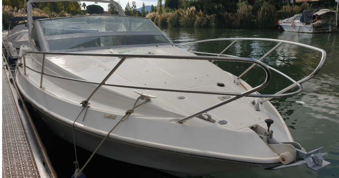 Rental Motorboat Arcoa with a permit