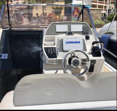 Boat rental Sainte-Maxime cheap Tempest 1000