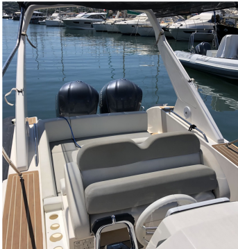 Rental yacht Sainte-Maxime - Capelli Tempest 1000 on SamBoat