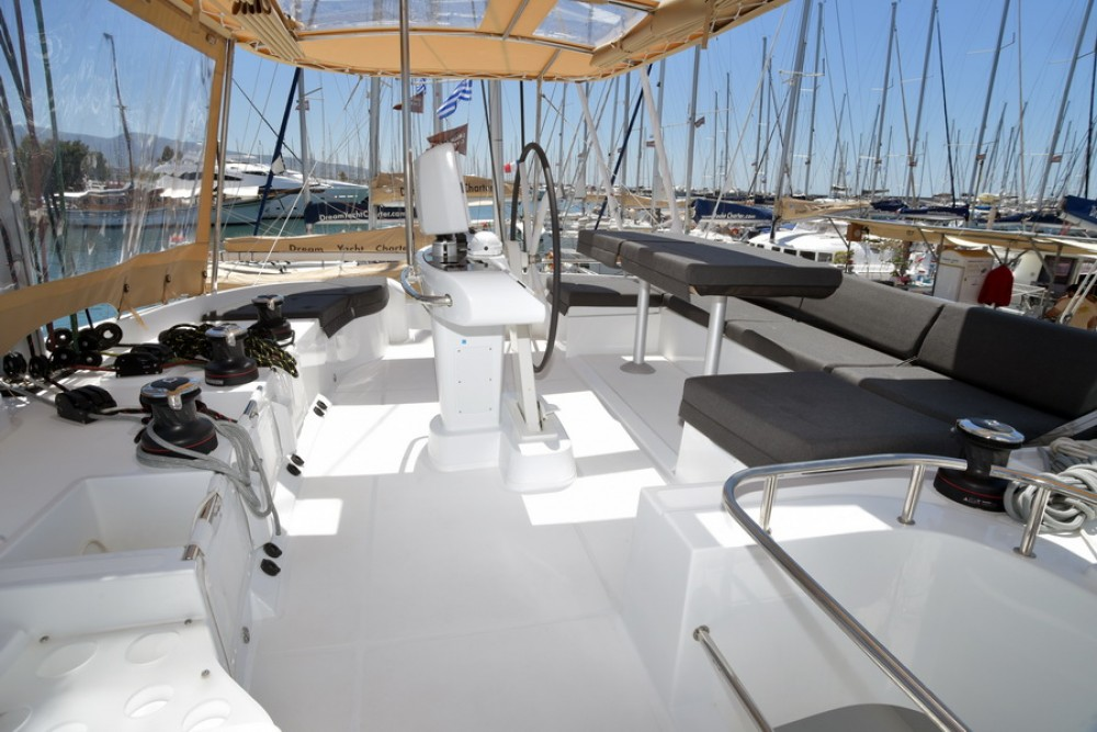 Boat rental Furnari cheap Lagoon 52