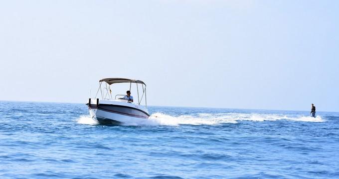 Boat rental Altea cheap Gasparet 80
