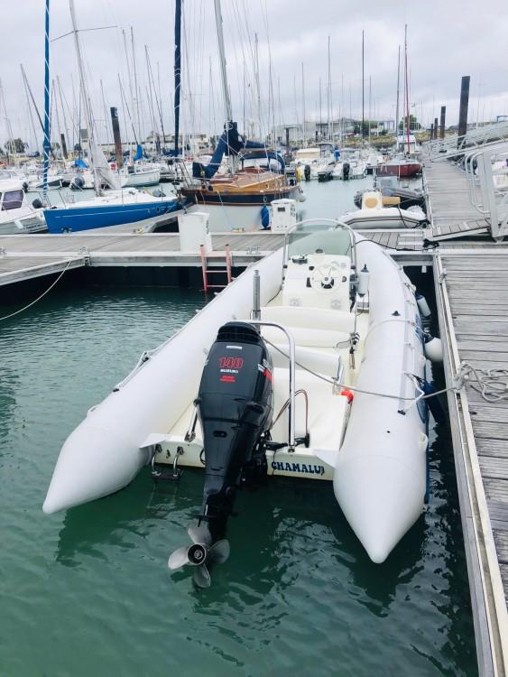 Bombard Explorer SB 640 between personal and professional La Rochelle