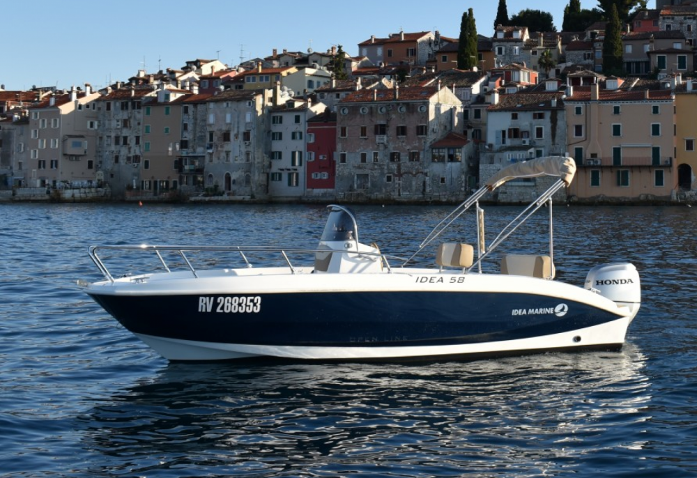Rental Motorboat in Rovinj - Idea Marine IDEA 58