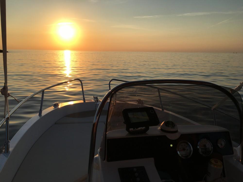 Boat rental Rovinj cheap IDEA 58