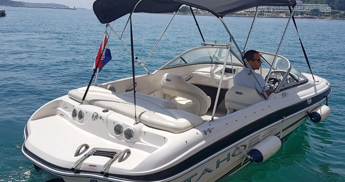 Hire Motorboat with or without skipper Tahoe Poreč