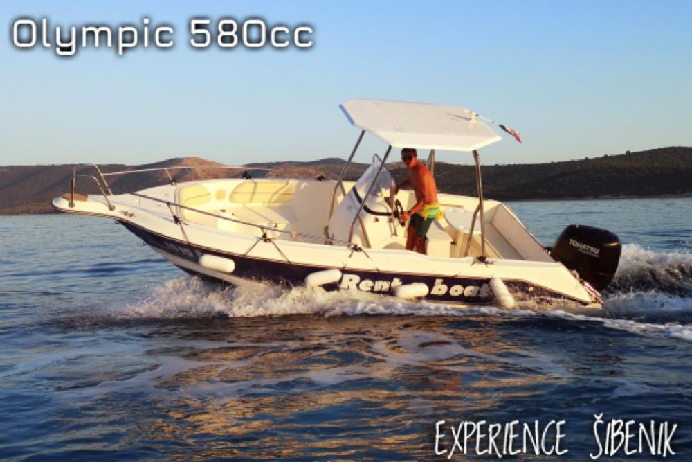 Rental Motorboat in Žaborić - Olympic 580cc