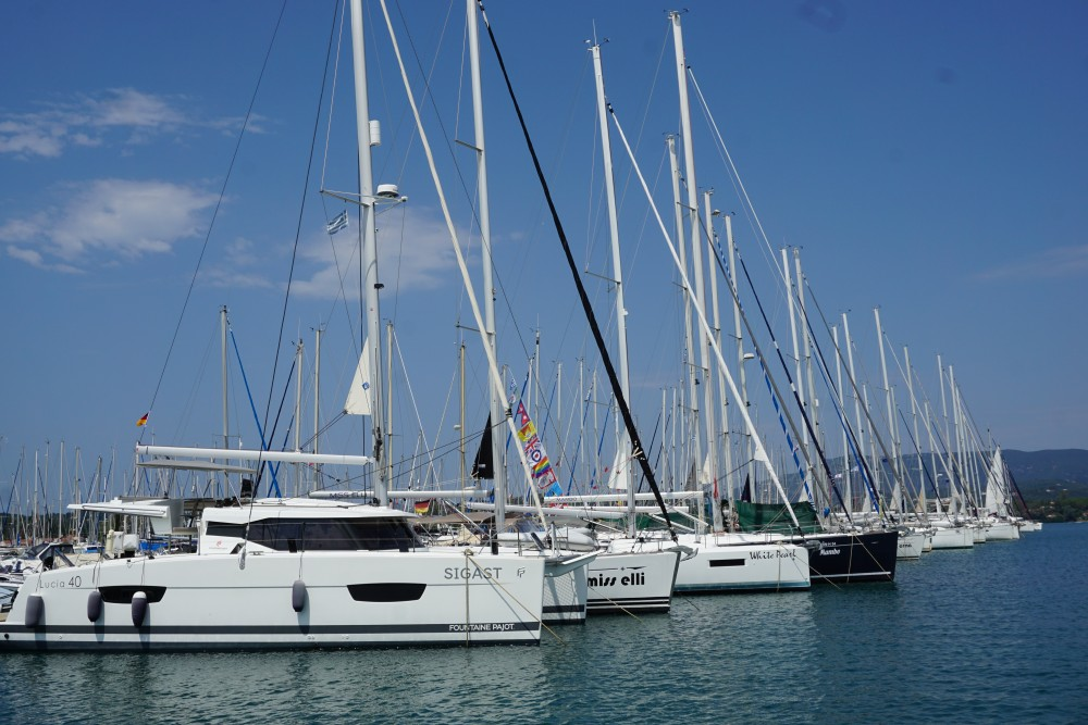 Rental yacht Primošten - Fountaine Pajot Lucia 40 on SamBoat