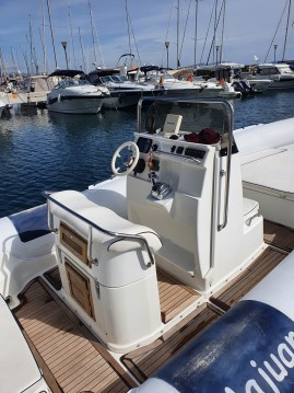 Rental RIB Nautica Cab with a permit
