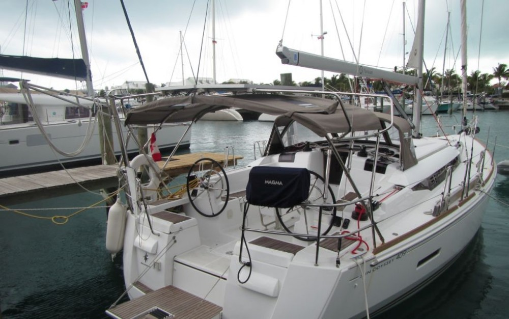 Boat rental Key West cheap Sun Odyssey 409