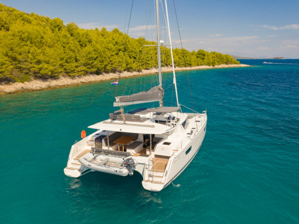 Rental yacht Split - Fountaine Pajot Saba 50 on SamBoat