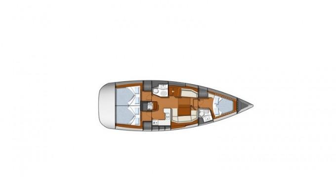 Rental yacht San Vincenzo - Jeanneau Sun Odyssey 42i on SamBoat