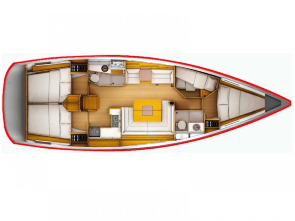 Boat rental San Vincenzo cheap Sun Odyssey 449