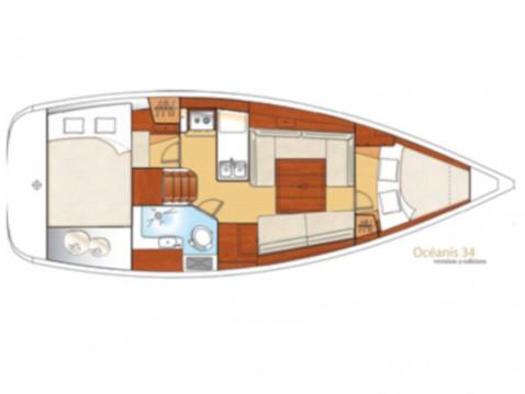 Rental Sailboat in San Vincenzo - Bénéteau Oceanis 34