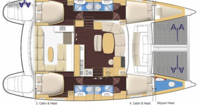Rental Catamaran in San Vincenzo - Lagoon Lagoon 440